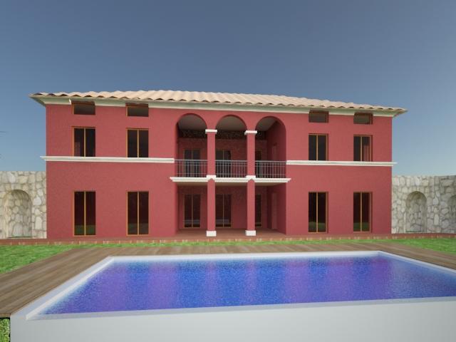 Progetto casa monofamigliare di circa 150 mq studio lorenzini lr immobiliare - Progetto casa 85 mq ...