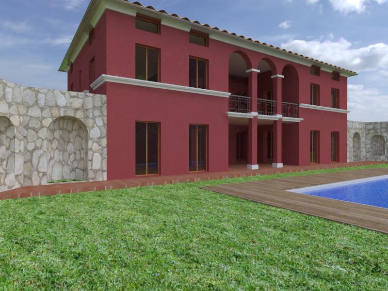 Progetto casa monofamigliare di circa 150 mq studio for Costruire casa prefabbricata su terreno agricolo