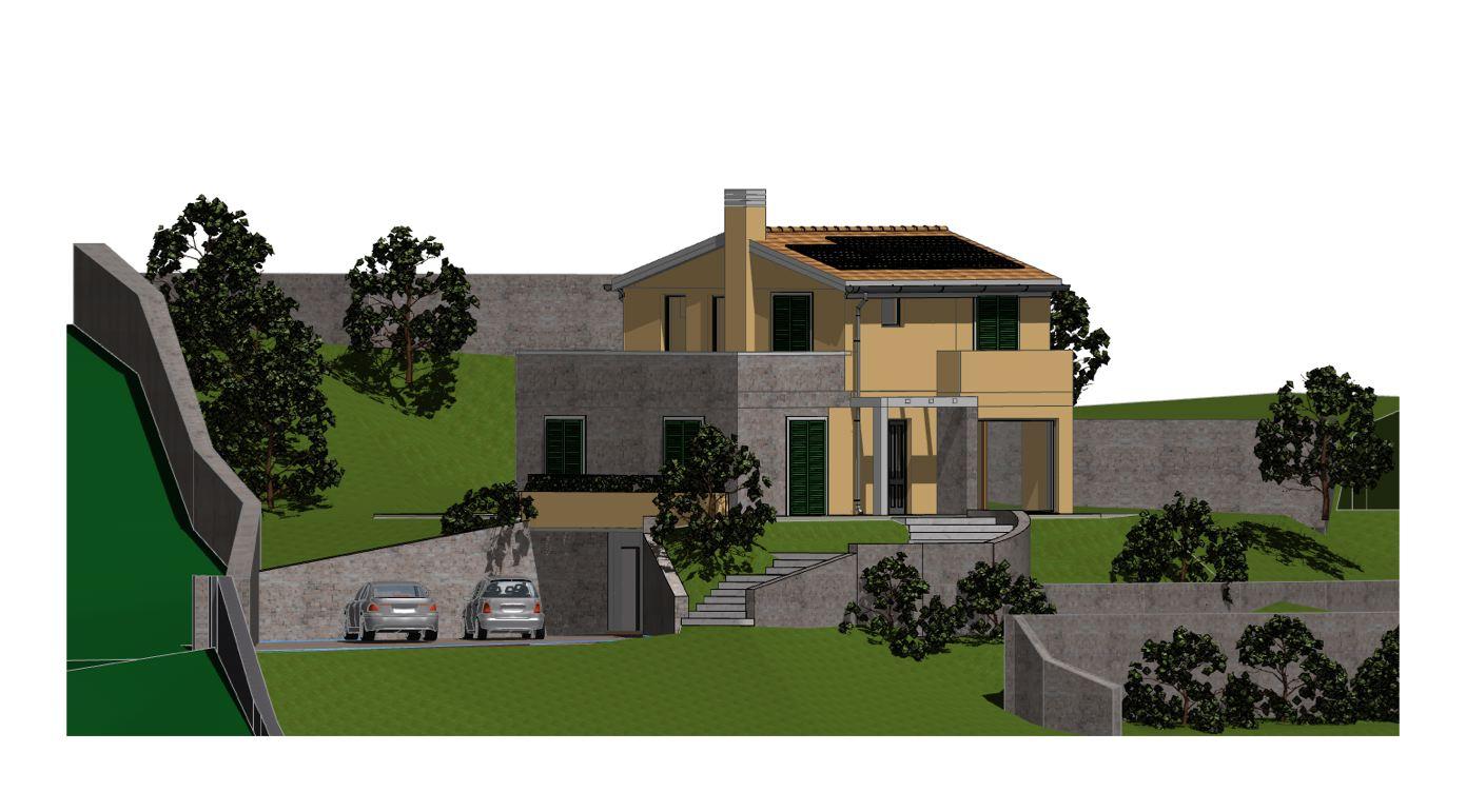 terreno con progetto approvato studio lorenzini lr