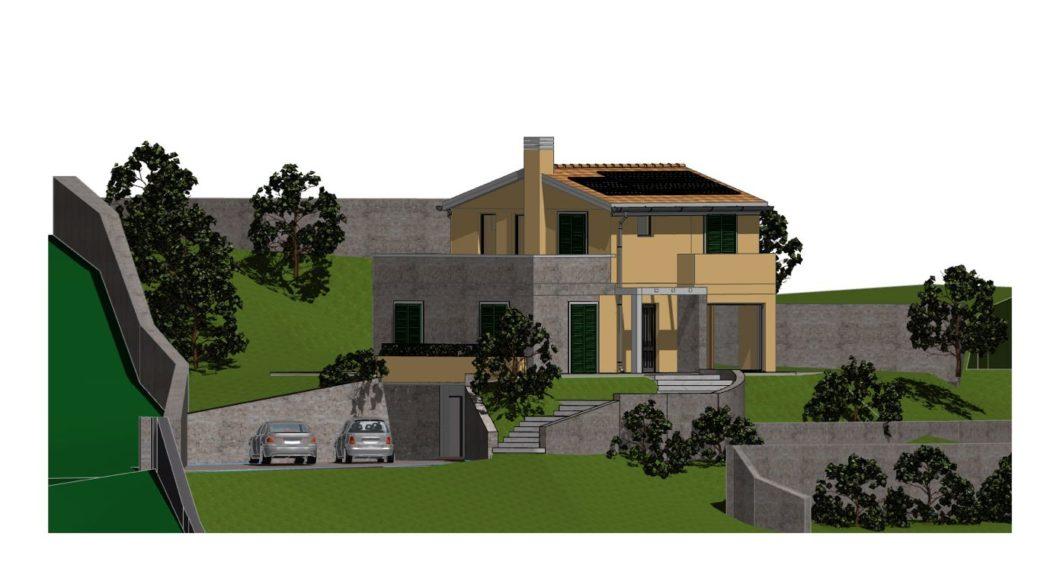 Terreno con progetto approvato   Studio Lorenzini - LR ...